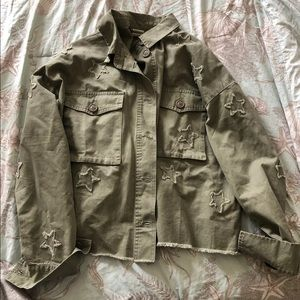 Vici Army Green Star Jacket S